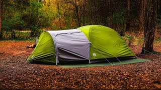 Solo Overnight Camping // Testing Out The Big Agnes Blacktail Hotel 3 Tent // ASMR