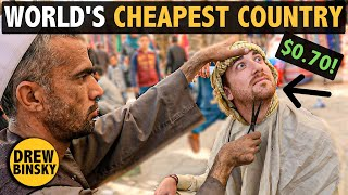 This is the WORLD'S CHEAPEST COUNTRY