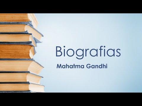 Biografia de Mahatma Gandhi