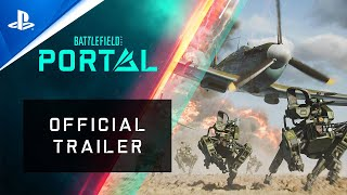 PlayStation Battlefield 2042 - Battlefield Portal Official Trailer   PS5, PS4 anuncio