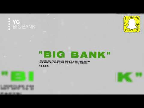 YG - Big Bank (Clean) ft. 2 Chainz, Big Sean, Nicki Minaj