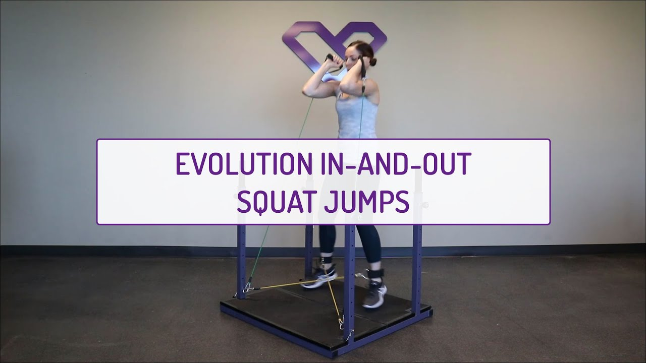 Evolution In-and-Out Squat Jumps