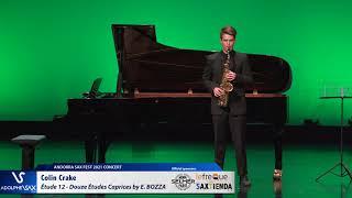Colin Crake plays Étude 12 Douze Études Caprices by Eugène BOZZA