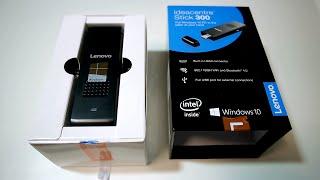 Lenovo Ideacentre Stick 300 Unbox and Test