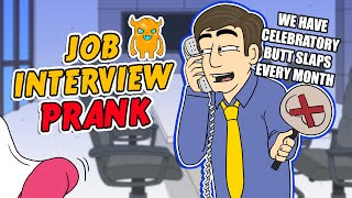 Ridiculous Job Interview Prank - Ownage Pranks