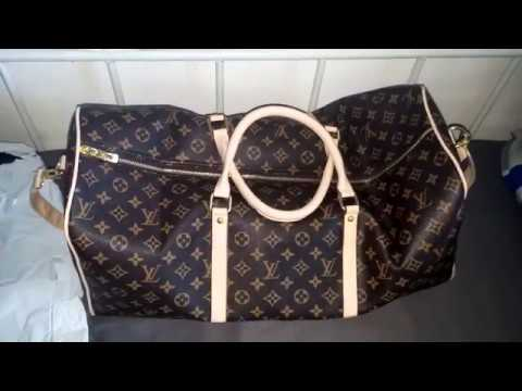 LOUIS VUITTON TRAVEL BAG REVIEW!!! ioffer