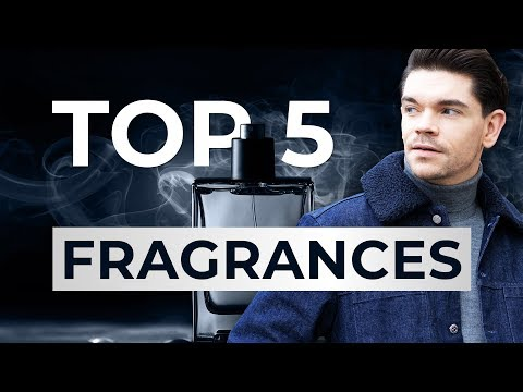 Top 5 Most Complimented Men's Fragrances