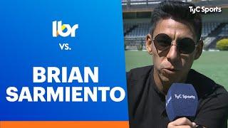 """¡LÍBERO VS BRIAN SARMIENTO! Sus locuras, sus canciones, tremendas anécdotas con Juan Román Riquelme, Tevez, su vínculo con Newell`s, el """"Tamo Activo"""" ¡Imperdible mano a mano!"""