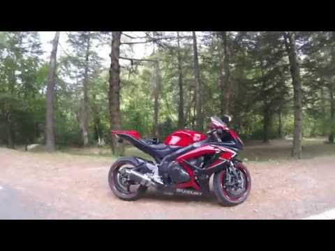 GHOST RIDE • HELL RACING gsxr 600 gsr 750 . Suzuki team . Mont aigoual France FR