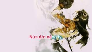 [KARAOKE LỜI VIỆT] Một khúc tương tư - Bán Dương | 一曲相思 - 半阳