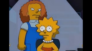 THE SIMPSONS - Lisa And The Giant Friend Obsession !