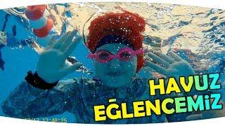 Yüzme Havuzu Eğlencemiz - Eğlenceli ve Gülme Garantili Video | Fun at the Swimming Pool