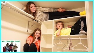 Sardines Hide And Seek - Audrey Is A Sneaky Hider / That YouTub3 Family I Family Channel