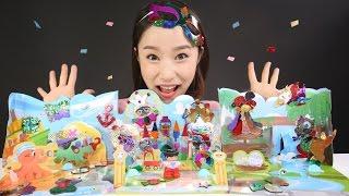 캐리의 키난빌 반짝커 스티커 장난감 만들기 놀이 CarrieAndToys