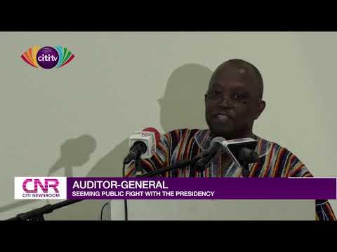 Daniel Domelevo, Presidency in public spat over leave directive to Auditor-General