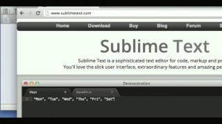 #01 Sublime Text 2の基礎