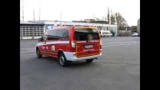 preview picture of video 'Neuer ELW Feuerwehr Rehau 2. Einsatzfahrt (erstmalig gefilmt)'