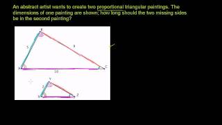 Application of Similar Triangles