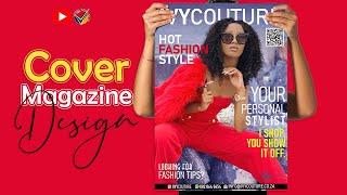 FREE LESSON | Create A Unique Fashion Magazine Cover In Photoshop