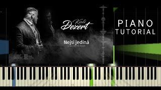 Kali - Nejsi jediná - Piano EASY Tutorial - Synthesia