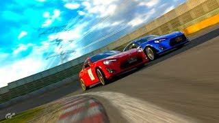 GT Sport - Paddle Shifting vs. H-Shifting - Weekly Race Tsukuba