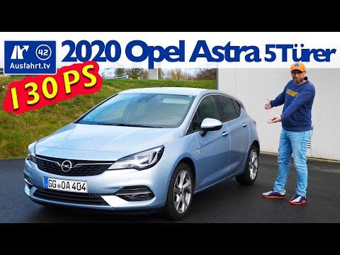 2020 Opel Astra 5-Türer Elegance 1.2 Turbo 130PS - Kaufberatung, Test deutsch, Review, Fahrbericht
