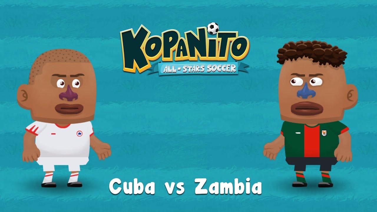 Gameplay - Cuba vs Zambia
