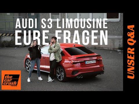 Audi S3 Limousine Q&A (2021): Eure Fragen - Unsere Antworten! 🤔🤓 Sound | Qualität | Preis | Sedan