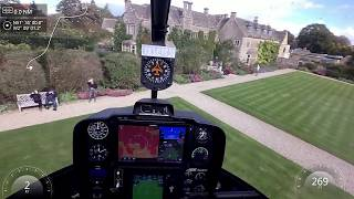 Robinson R66 Helicopter Flight to Kemble Airport