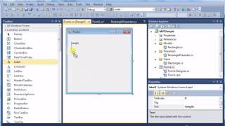 MVP (Model View Presenter) Example (C# Code)