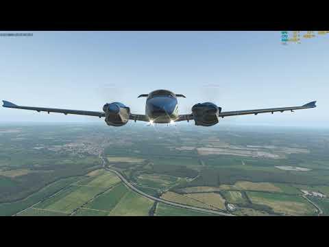 ORBX TrueEarth Great Britain South for X-Plane 11| Dornier Do 228
