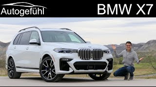 BMW X7 FULL REVIEW all-new SUV V8 50i 6-Seater vs 40i 7-Seater comparison