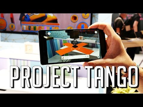Worlds First AR Smartphone - Lenovo Phab 2 Pro with TANGO !