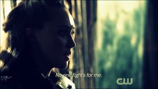 Clarke & Lexa- i wont just sit there and watch you die (Season 3)