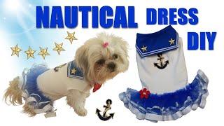 Sailor Moon Outfit DIY – Navy Uniform Queen's Walk Theme Dog Clothes