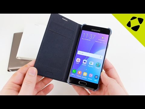 Official Samsung Galaxy A3 2016 Flip Wallet Cover Case - Review