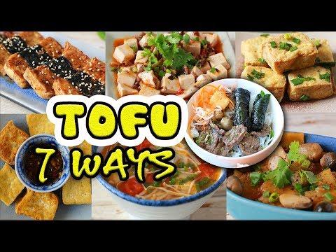 TOFU 7 WAYS (Vegan recipes)