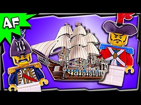 Vidéo LEGO Creator 10210 : Le vaisseau amiral