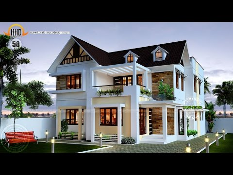 New house plans for april 2015 kerala home design and for New model veedu photos
