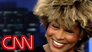 Why Tina Turner left the U.S. (1997 Larry King Live inter...