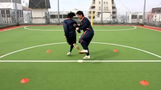 【子供】片足相撲