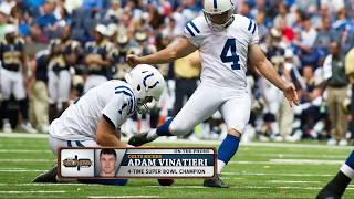 Colts PK Adam Vinatieri Explains a Kicker's Mindset | The Dan Patrick Show | 8/16/2017