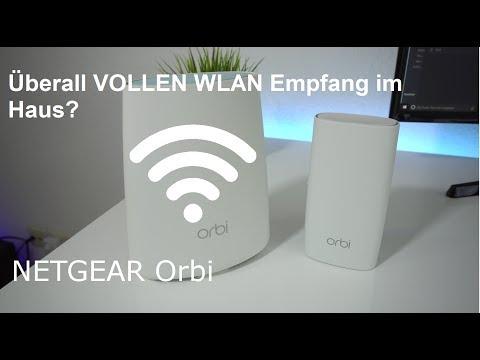 Voller WLAN Empfang  im ganzen Haus? NETGEAR Orbi - Einrichtung und Testbericht