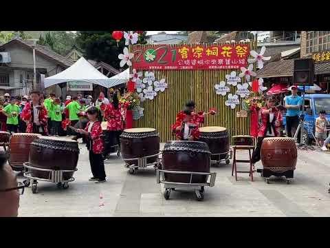 點擊觀看2021客家桐花祭鼓藝表演影音
