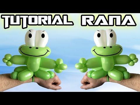 Palloncini modellabili Tutorial 5  - braccialetto Rana Frog - BalloonTwisting  Globoflexia