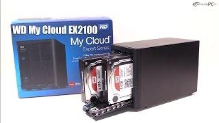 Western Digital My Cloud EX2100 NAS im Hands On & Einrichtung / Setup | Allround-PC.com