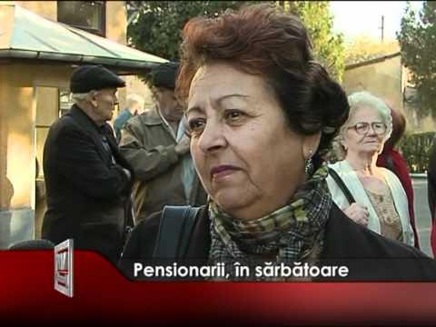 Pensionarii, în sărbătoare