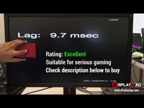 ViewSonic XG2700-4K Input Lag Test