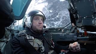 Полет на истребителе. Полная версия полёта из 1-го выпуска The Challenger