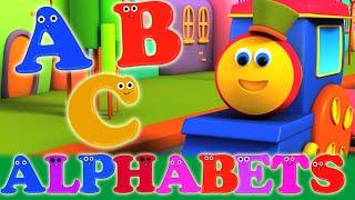 Bob, xe lửa | Bob bảng chữ cái tàu | Bob học video biên dịch cho trẻ em